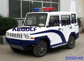 5座电动封闭巡逻车 ZHGD04B